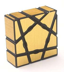 Puzzle Ghost Golden Cube