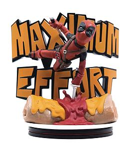"Marvel Q-Fig Max - Deadpool ""Maximum Effort"""