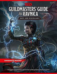 Dungeons & Dragons Guildmaster's Guide to Ravnica Maps and Miscellany