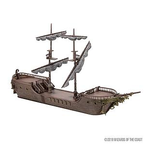 Dungeons & Dragons Icons of the Realms: Falling Star Sail Ship