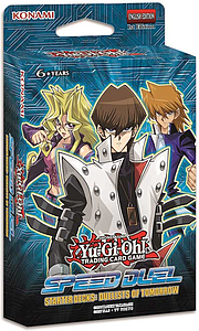 YuGiOh Trading Card Game Speed Duelling Starter Deck: Duellists of Tomorrow