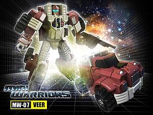iGear Transformers iGear Series Deluxe Class NW-07 Veer