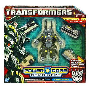 Transformers Power Core Combiners Class: Bombshock (Opened Package)