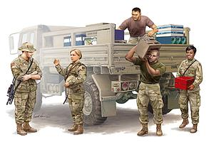 Modern U.S. soldiers – Logistics Supply Team (00429)