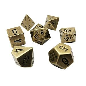 Metal 7-Die Set: Old Brass