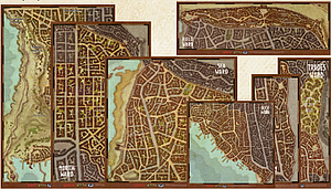 Dungeons & Dragons Waterdeep: Dragon Heist Map Set