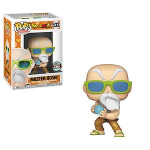 Pop! Animation Dragon Ball Super Vinyl Figure Master Roshi #533 Specialty Series