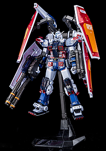 Gundam Master Grade 1/100 Scale Model Kit: Full Armor Gundam Ver.Ka (Gundam Thunderbolt) (Half Mechanical Clear) Limited Item
