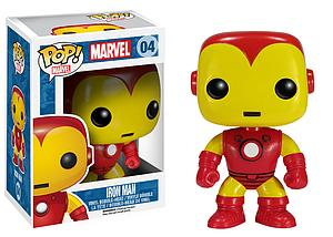 Pop! Marvel Vinyl Bobble-Head Iron Man #04