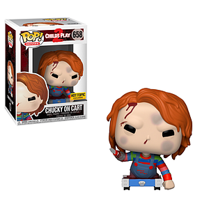 Pop! Movies Child's Play 2 Vinyl Figure Chucky on Cart #658 Hot Topic Exclusive