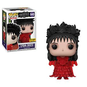 Pop! Movies Beetlejuice Vinyl Figure Lydia Deetz (Wedding Outfit) #640 Hot Topic Exclusive