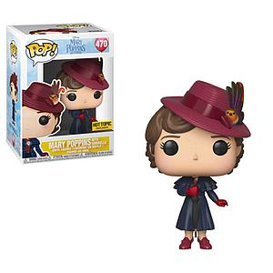 Pop! Disney Mary Poppins Returns Vinyl Figure Mary Poppins with Umbrella #470 Hot Topic Exclusive