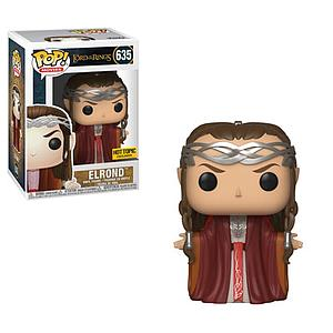 Pop! Movies Lord of the Rings Vinyl Figure Elrond #635 Hot Topic Exclusive