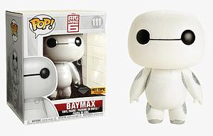 "Pop! Disney Big Hero 6 Vinyl Figure 6"" Baymax (Diamond Collection) #111 Hot Topic Exclusive"