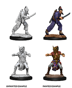 Dungeons & Dragons Nolzur's Marvelous Unpainted Miniatures: Human Monk (Male)