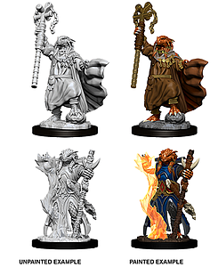 Dungeons & Dragons Nolzur's Marvelous Unpainted Miniatures: Female Dragonborn Sorcerer