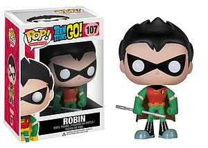Pop! Television Teen Titans Go! Vinyl Figure Robin #107 (Retired)