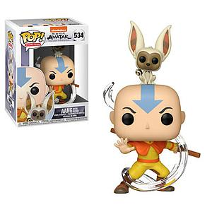Pop! Animation Avatar: The Last Airbender Vinyl Figure Aang & Momo #534