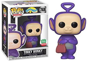Pop! Television Teletubbies Classic Vinyl Figure Tinky Winky #748 Funko-Shop Exclusive