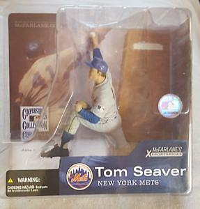 MLB Sportspicks Cooperstown Series 1: Tom Seaver (New York Mets) Gray Jersey