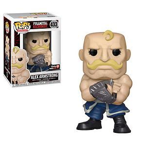 Pop! Animation Fullmetal Alchemist Vinyl Figure Alex Armstrong #433 GameStop Exclusive (EB Games Sticker)