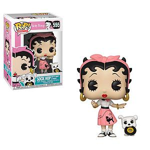 Pop! Animation Betty Boop Vinyl Figure Sock Hop (Betty Boop & Pudgy) #555