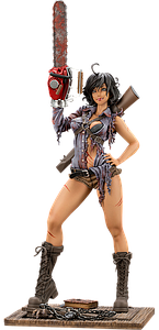 Horror Bishoujo: Ash Williams (Bloody) Hot Topic Exclusive