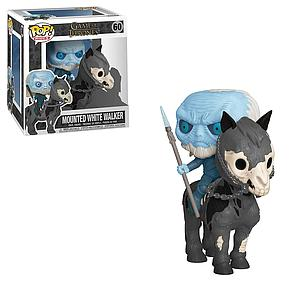 Pop! Rides Television Game of Thrones Vinyl Figure Mounted White Walker #60