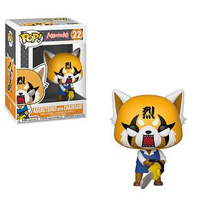 Pop! Animation Aggretsuko Vinyl Figure Aggretsuko with Chainsaw #22