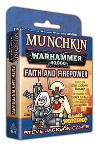 Munchkin: Warhammer 40,000 - Faith and Firepower