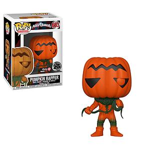Pop! Television Power Rangers Vinyl Figure Pumpkin Rapper #663 GameStop Exclusive