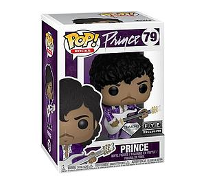 Pop! Rocks Prince Vinyl Figure Prince (Purple Rain) (Diamond) (Glitter) #79 FYE Exclusive