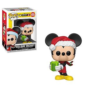 Pop! Disney Mickey 90th Anniversary Vinyl Figure Holiday Mickey #455