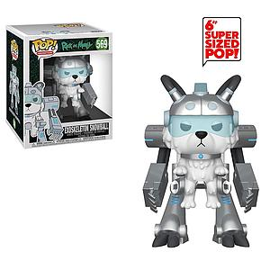 "Pop! Animation Rick & Morty Vinyl Figure 6"" Exoskeleton Snowball #569"