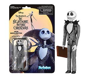 ReAction Figures Nightmare Before Christmas Series Jack Skellington