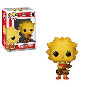 Pop! Television The Simpsons Vinyl Figure Lisa Simpson (Saxophone) #497