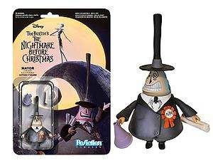 ReAction Figures Nightmare Before Christmas Series Mayor (Retired)