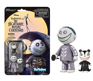 ReAction Figures Nightmare Before Christmas Series Barrel