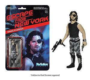 ReAction Figures Escape from New York Series Snake Plissken (Vaulted)
