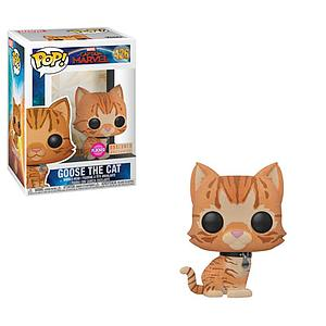 Pop! Marvel Captain Marvel Vinyl Bobble-Head Goose the Cat (Flocked) #426 BoxLunch Exclusive