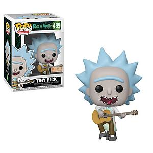 Pop! Animation Rick & Morty Vinyl Figure Tiny Rick #489 BoxLunch Exclusive