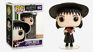 Pop! Movies Beetlejuice Vinyl Figure Lydia Deetz (Book) #642 BoxLunch Exclusive