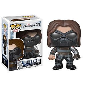 Pop! Marvel Captain America The Winter Soldier Vinyl Bobble-Head Winter Soldier Masked #44 (Retired)