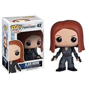 Pop! Marvel's Captain America Winter Soldier Vinyl Figure Black Widow #42 (Retired)