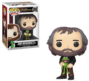 Pop! Icons Jim Henson Vinyl Figure Jim Henson with Kermit #20