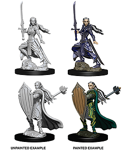 Dungeons & Dragons Nolzur's Marvelous Unpainted Miniatures: Female Elf Paladin