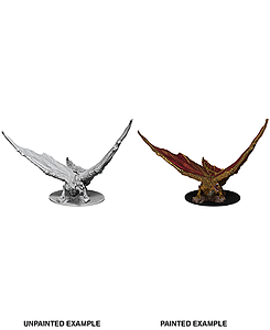 Dungeons & Dragons Nolzur's Marvelous Unpainted Miniatures: Young Brass Dragon