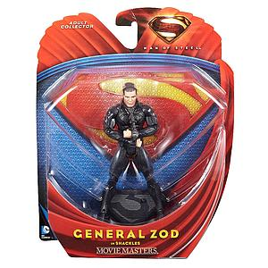 Mattel Man of Steel Movie Masters: General Zod (In Shackles)