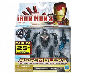 "Iron Man Assemblers Interchangeable Armour System 3 3 3/4"": Hypervelocity Iron Man"