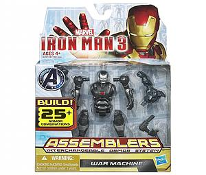 "Iron Man Assemblers Interchangeable Armour System 3 3 3/4"": War Machine"